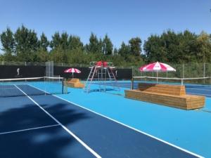Långasands IF ordnade tennisbanor i toppskick