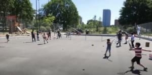 Projekt för hållbar tennis i Malmö gjorde succé